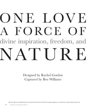 ONE Love by Rachel Gordon Press 57